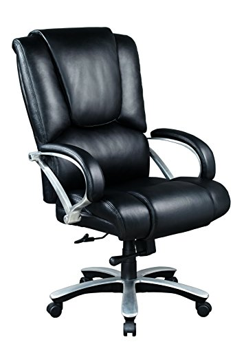 Cheap Staples Bosworth Bonded Leather Big Tall Managers Chair Black
