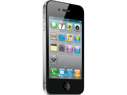 Apple iPhone 4S 16 GB AT&T, Black (Renewed)