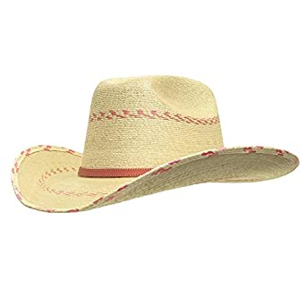 fcd61f26f7486 Amazon.com  Atwood Youth Pink Palm Cowboy Hat  Clothing