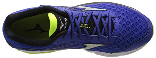 Pictures of Mizuno Men's Wave Inspire 12 Running Surf the Web/Silver 2