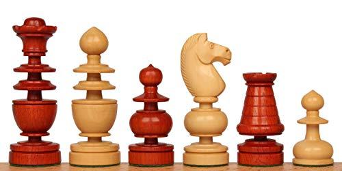ue Reproduction Chess Set Padauk & Boxwood Pieces ()