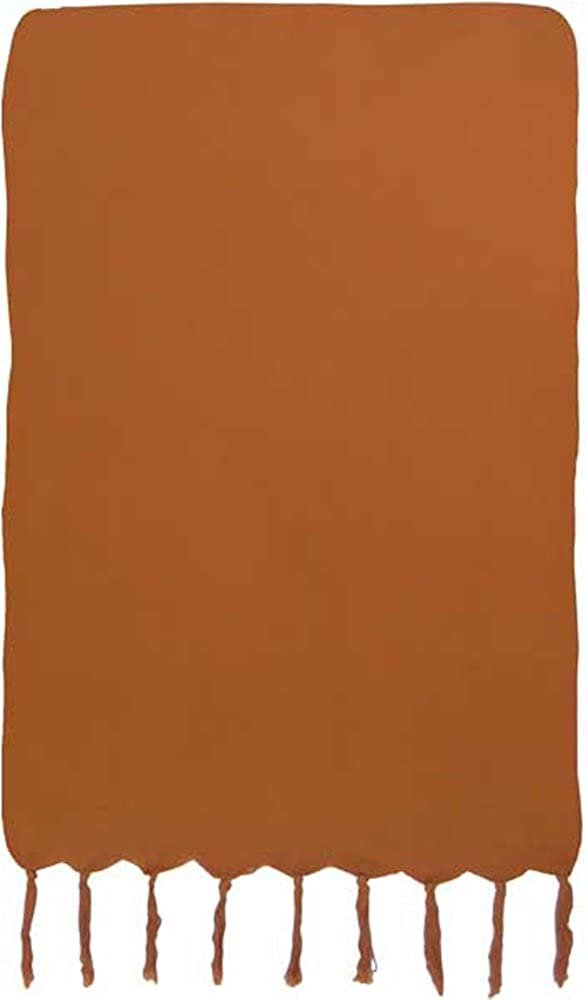 Caramel Solid Color Extra Long Sarong