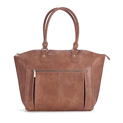 Newlie Lily Tote Diaper Bag in Sandalwood