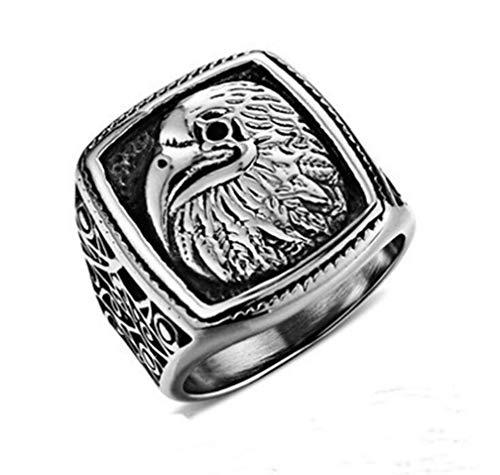 JJWW Snow Mountain Proboscis Eagle Ring ()