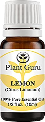 Lemon Essential Oil. 10 ml. 100% Pure, Undiluted, Therapeutic Grade.