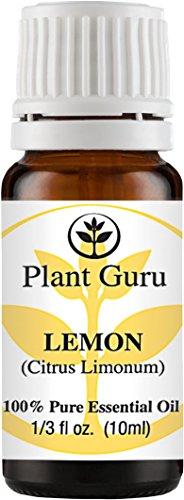 Lemon Essential Oil. 10 ml. 100% Pure, Undiluted, Therapeutic Grade.