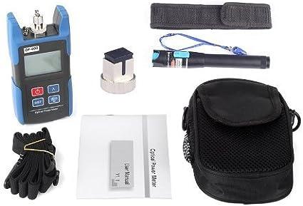 SeeKool TL510 port/átil /óptico medidor de Potencia,-70~+10 dBm//-50~+26 dBm FC SC ST Conector Longitud de Onda de Trabajo 850-1625nm -70~+10 dBm