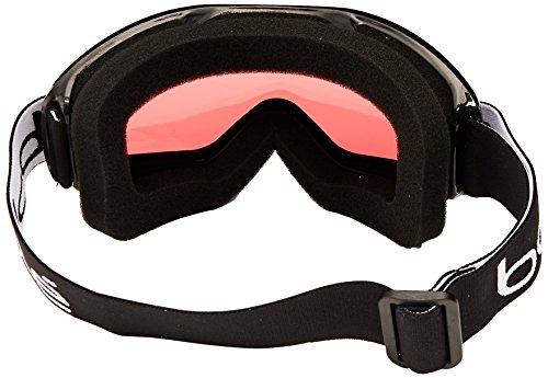 Bolle Mojo Snow Goggles (Shiny Black, Vermillon)