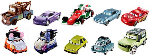 cars 2 diecast pack - 2