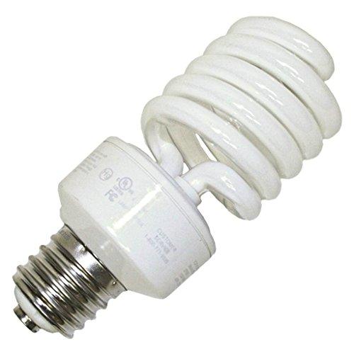 - TCP CFL Spring Lamp, 150W Equivalent, Daylight White (5100K) MOGUL Base Spiral Light Bulb