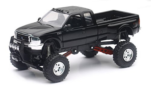 Ford F-350 4x4 Pickup Truck Raised w/ Working Suspension