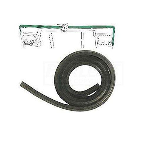 Eckler's Premier Quality Products 25333125 Corvette Weatherstrip Hood Rear -