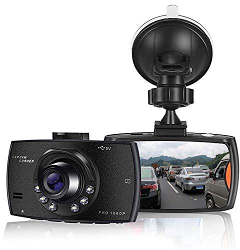🥇 SOOTEWAY Cámara de Coche 1080P Full HD Dash CAM 2.4 Pulgada LCD Conducir Grabadora 170°�ngulo con WDR