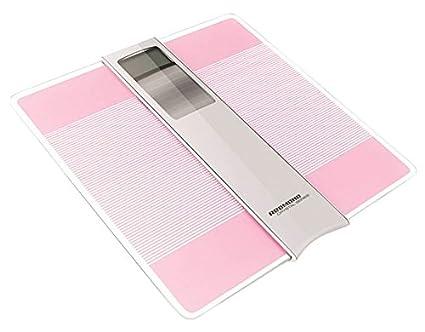 Redmond RS-719 Báscula Personal electrónica Rectángulo Rosa - Báscula de baño (Báscula Personal