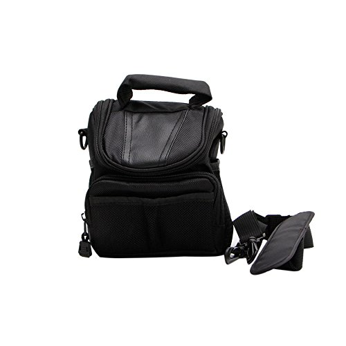 Price comparison product image Stebcece Camera Small Nylon Waterproof Shoulder Bag Case Handbag For Nikon Canon SLR DSLR