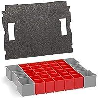Inset Box Set Inserts Organisatiesysteem met Deksel Pads voor Bosch Assortiment L-BOXX 102 | Ook geschikt voor De Nieuwe…