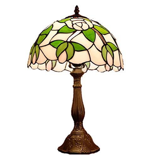 Yjmgrowing Lámpara de Mesa Estilo Tiffany,Accesorios de ...