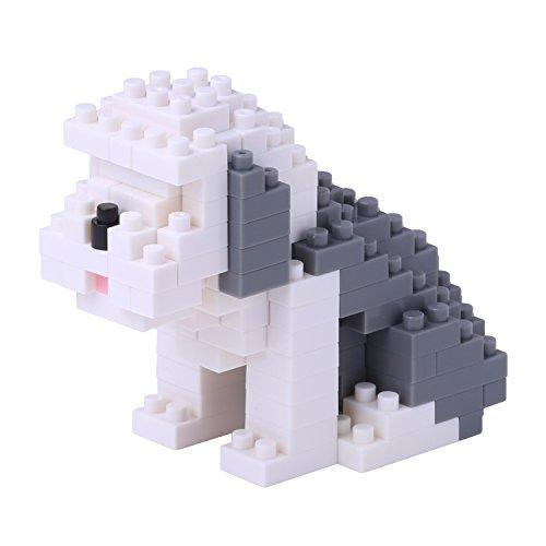 Nanoblock Old English Sheep Dog Building Kit