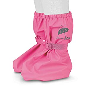 Sterntaler Cubrebotas de lluvia para niñas con automático, Edad: 0-24 Meses, Talla: Única, Color: Rosa (Hortensia),Art.Nº: 5651690