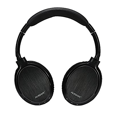 Ausdom® M06 Stereo Wired/wireless Lightweight Bluetooth Over-ear Headphone with Built-in Mic for Music Streaming Hands-free Calling for iPhone/Android/PC