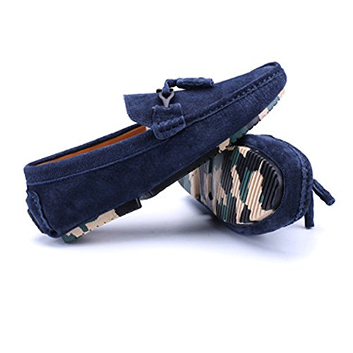 Business 5 Mocassini Nhatycir Blu uomo Mocassini Dimensione da Color Penny Fashion pelle Nappa on MUS Shoes Mocassini vera 8 in da Flat Decor Blu Scarpe Slip guida OqwPSOxp
