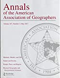 img - for Annals of the American Association of Geographers, Vol 107, Number 3 book / textbook / text book