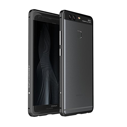 Aluminum Metal Bumper Frame Case for HUAWEI P9 (Black) - 3