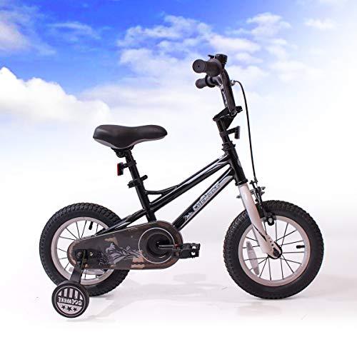 FOUJOY Kids Sporty Bike 12-14-16 Inch for Children Age 2-7