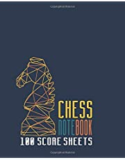 Chess Notebook 100 Score Sheets: Beautifully Designed 90 Moves Chess Scorebook (Notation Book) | Score Sheets For Your Chess Match | You Can Play 100 Games (White on Black Chess Board) (Equipment Chess Set)