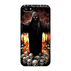 Scratch Resistant Cell-phone Hard Cover For Iphone 5/5s (jMr1928CqTZ) Support Personal Customs High-definition Disturbed Skin