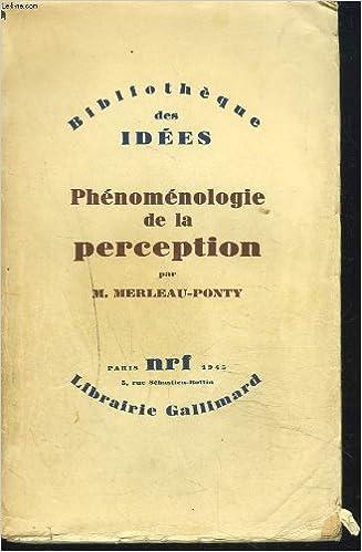 Book Broché - Phénoménologie de la perception