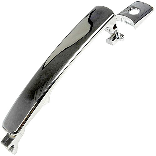Door Handle w/Keyhole Chrome Fits Front Left 2003-2007 Nissan Murano 2005-2011 Rogue 2004-2011 Infiniti FX35 & FX45 (Models Without Smart Key; Replaces 80640-CA012, 80640CA012) ()