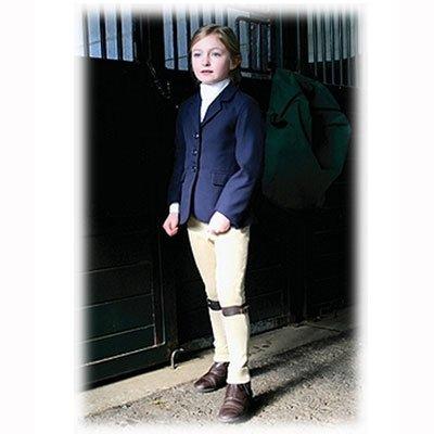 TuffRider Girl's Starter Show Coat, Navy, 14