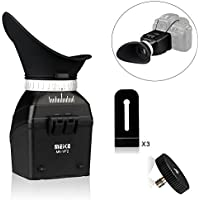 Mcoplus MK-VF2 Universal LCD Viewfinder Extender for 3-3.2 Screen Canon Nikon DSLR Camera