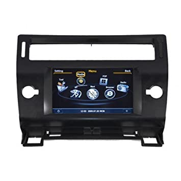 Radio de coche CITROEN C4 bluetooth para GPS soporte, color negro: Amazon.es: Coche y moto