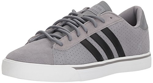 adidas+Neo+Men%27s+CF+Super+Daily+Sneaker%2CGrey+Three%2FCore+Black%2FGrey+Four%2C13+M+US