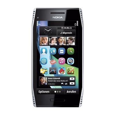 Nokia X7-00 - Steel silver (Unlocked) Smartphone