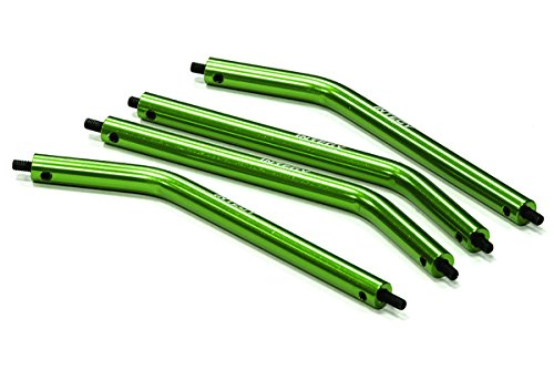 Integy RC Model Hop-ups C22844GREEN Alloy Lower Suspension Link (4) for Axial AX10 ()