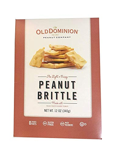 Old Dominion Peanut Brittle 12 Ounce Box (Pack of 2) (Old Fashioned Peanut Brittle)