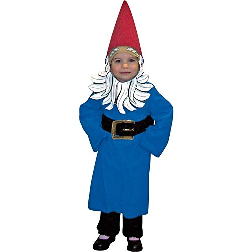 Toddler Travelocity Gnome Costume (Size:2-4T) (Gnome Girl Costume For Toddlers)
