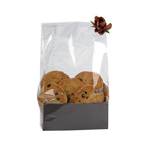 "Packnwood Clear Plastic SOS Bag, 5.5"" x 2.5"" x 8.1"" (Case..."