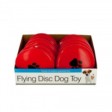 Bulk Buys DI533-48 Flying Disc Dog Toy Countertop Display - 48 Piece by bulk buys (Image #1)