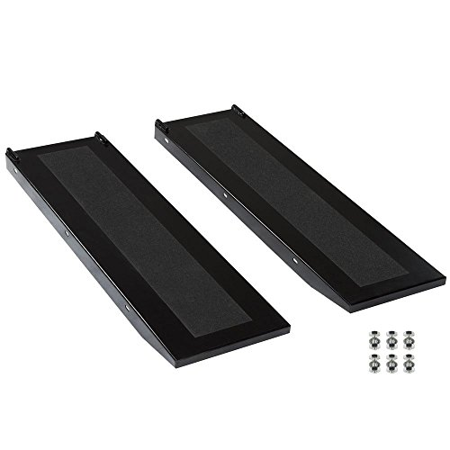 (Black Widow Extra-Long Lift Table Side Extension Approach Ramps)