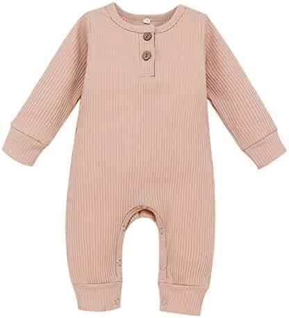 Troop Infant Baby Boys Girls Clothing Shirts Long Sleeves Rompers Jumpsuit