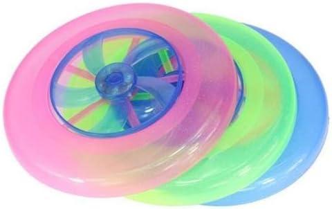 Como Direct Ltd /™ brillante LED Frisbee ideal para ni/ños rosa dise/ño perro
