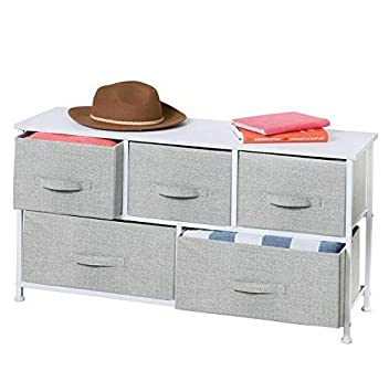 Amazon.com: Hebel Extra Wide Dresser Storage Tower with 5 ...