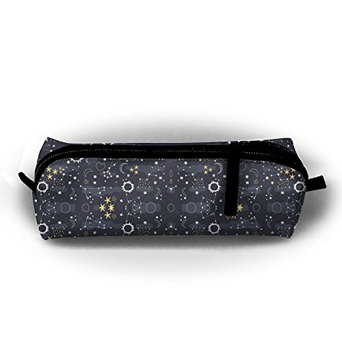 TGDFDSDF89 Solar Eclipse Fabric Pencil Pen Case Bag Stationery Pouch Bag For Kids,School Student Stationery Office Supplies Eclipse Solar Bag