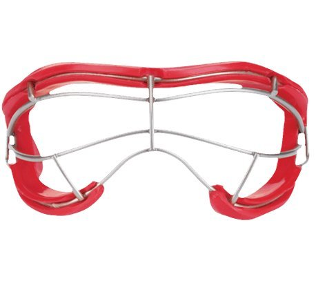 STX 4 Sight Plus Womens Adult Lacrosse Goggle, Red