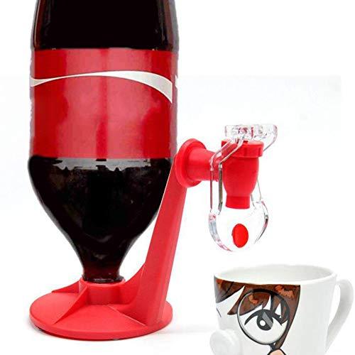 Rouge Saver Soda Dispenser Magic Tap Bouteille de Distribution deau Potable /à lenvers