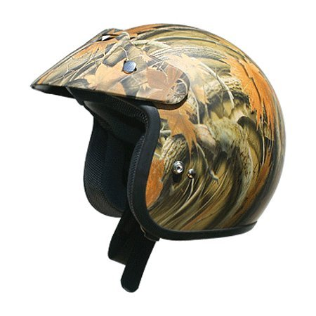 AFX FX-75 Youth Open Face Motorcycle Helmet Camo Small ()